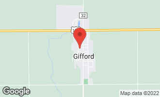 Map of 109 West Plumb Street Gifford, IL 61847