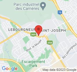Google Map of 1090+BOUL+BASTIEN%2CQuebec%2CQuebec+G2K+1E6