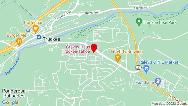 Google Map of 10918 Brockway Rd, Truckee, CA 96161