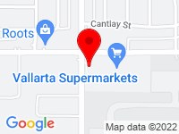 Google Map of 10960 Sherman Way
