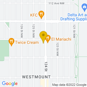 Map to Arcadia Bar provided by Google