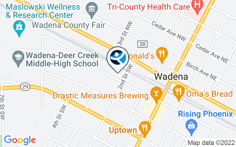 Northern Pines Chemical Health - Wadena Location and Directions