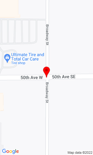 Google Map of Alex Power Equipment 11 50th Ave, Alexandria, MN, 56038