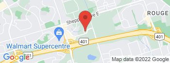 Google Map of 11+Auto+Mall+Dr%2CScarborough%2COntario+M1B+5N5