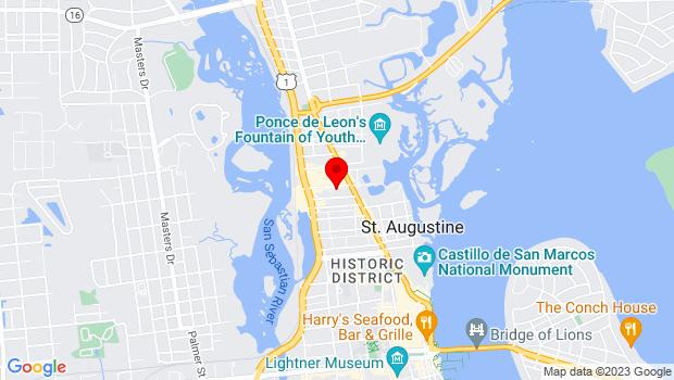 Google Map of 11 Old Mission Ave, FL