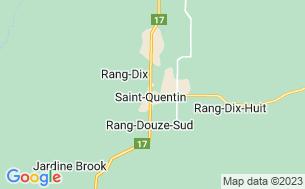 Map of Mount Carleton Campground
