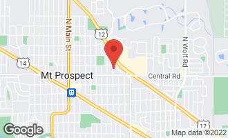 Map of 11 North Edward Street Mount Prospect, IL 60056