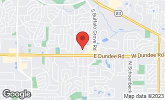 Map of 11 Oak Creek Drive #2118 BUFFALO GROVE, IL 60089