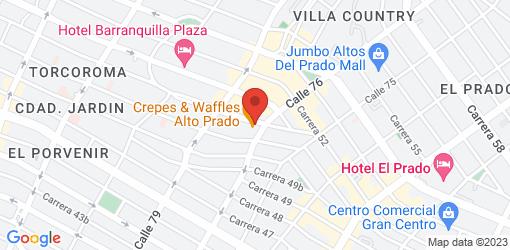 Directions to Crepes & Waffles Alto Prado