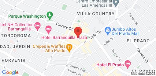 Directions to Mistura Barranquilla