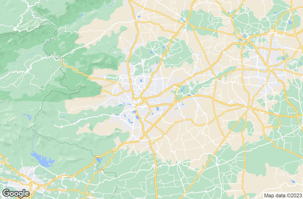 Google Map of Coimbatore