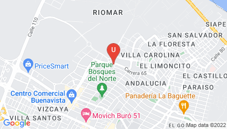 Ubicación o localización del proyecto de finca raíz  en venta: Sky 96 en Buenavista - Barranquilla - Colombia
