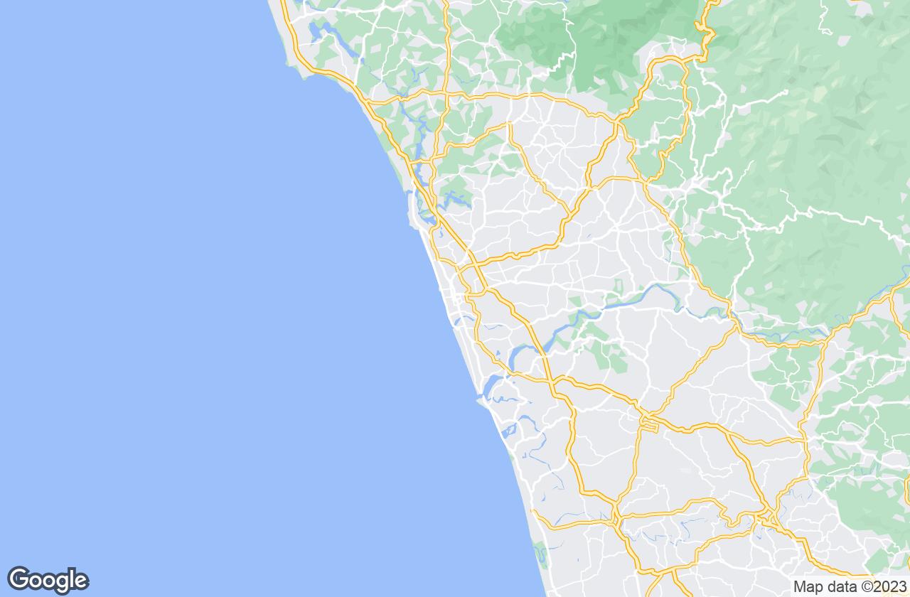 Google Map of Kozhikode