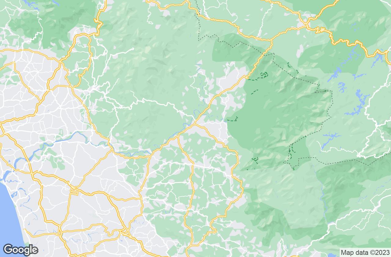 Google Map of في Nilambur