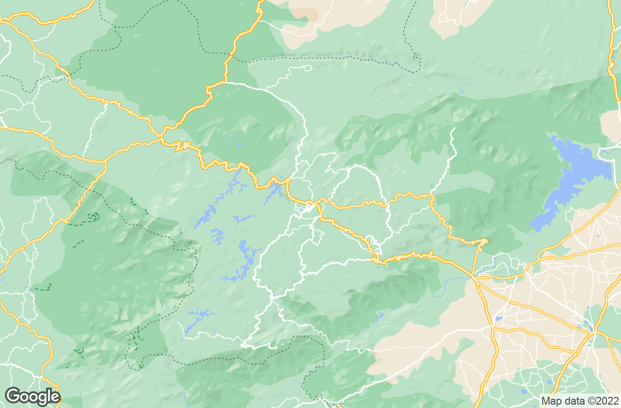 Google Map of Ooty