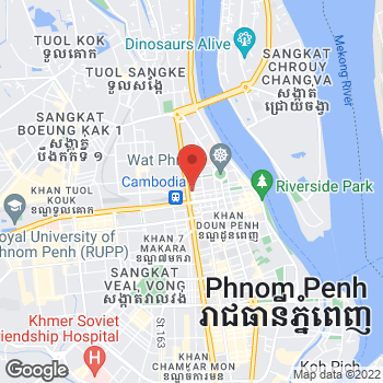 Map of Salvatore Ferragamo at 66 Monivong Boulevard, Phnom Penh,  12202