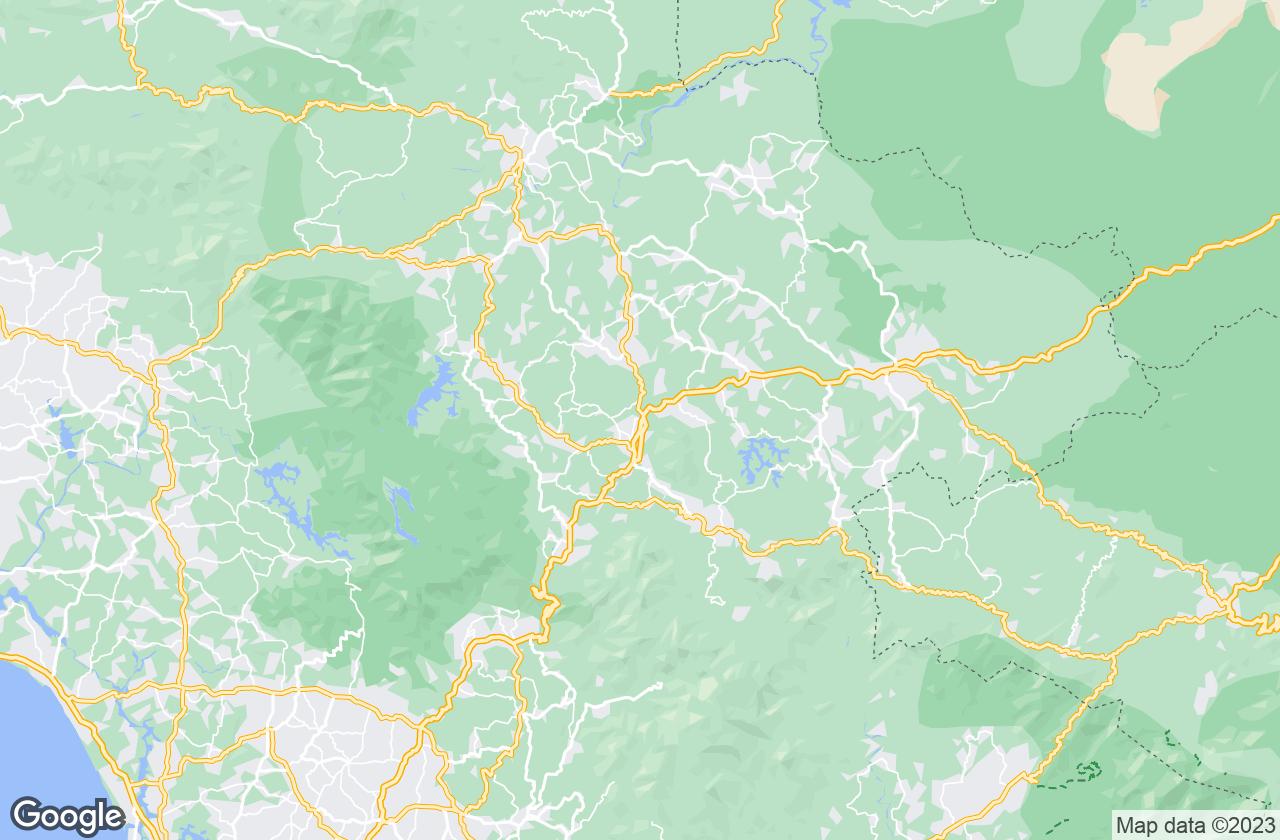 Google Map of Kalpetta
