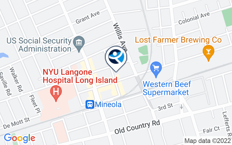 Seafield - Mineola Location and Directions