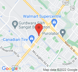 Google Map of 110+Canam+Crescent%2CBrampton%2COntario+L7A+1A9