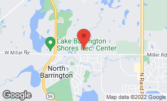 Map of 110 Arrowhead Drive NORTH BARRINGTON, IL 60010