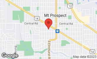 Map of 110 South Elmhurst Avenue MOUNT PROSPECT, IL 60056