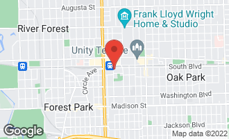 Map of 110 South Marion Street #304 OAK PARK, IL 60302