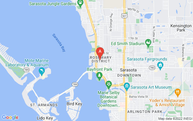 1100 Blvd Of The Arts Blvd #6C Sarasota Florida 34236 locatior map