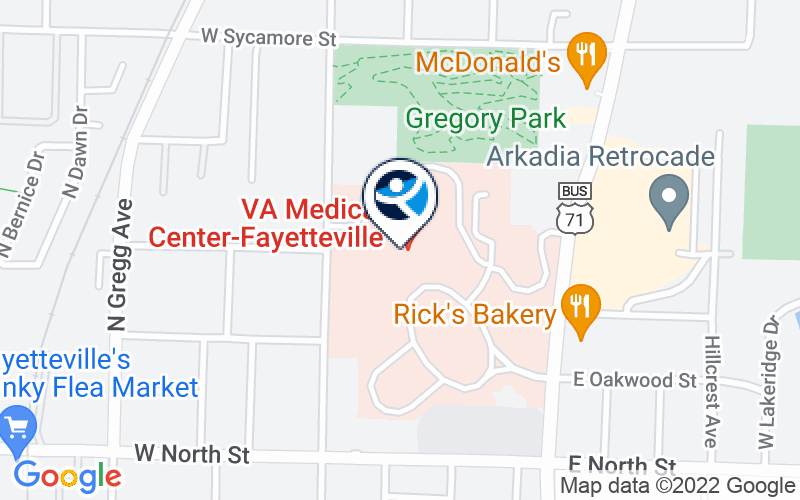 Va Medical Center - Fayetteville Location and Directions