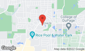Map of 1100 Bunker Hill Court C WHEATON, IL 60189