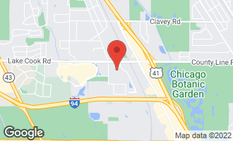 Map of 1100 Long Meadow Road NORTHBROOK, IL 60062