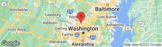Map of 11005 BRANDYWINE STREET KENSINGTON, MD 20895