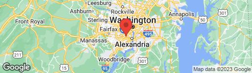 Map of 1101 FINLEY LANE ALEXANDRIA, VA 22304