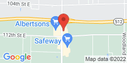 Google Map of 11019 Canyon Rd E+Puyallup+WA+98373