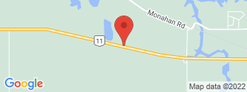 Google Map of 1102+Trans+Canada+Highway%2CMoosomin%2CSaskatchewan+S0G+3N0