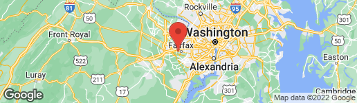 Map of 11021 WESTMORE DRIVE FAIRFAX, VA 22030
