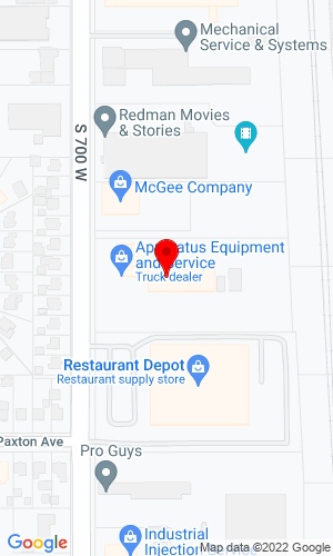 Google Map of H&K Truck Equipment 1103 South 700 West, Salt Lake City, UT, 84104