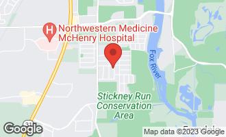Map of 1103 Bonita Lane MCHENRY, IL 60050