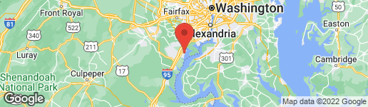 Map of 1104 MAPLETON STREET WOODBRIDGE, VA 22191