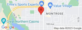 Google Map of 11044+-+100+Street%2CGrande+Prairie%2CAlberta+T8V+2N1