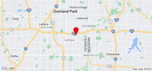Google Map of 11050 Roe Avenue #211, Overland Park, KS