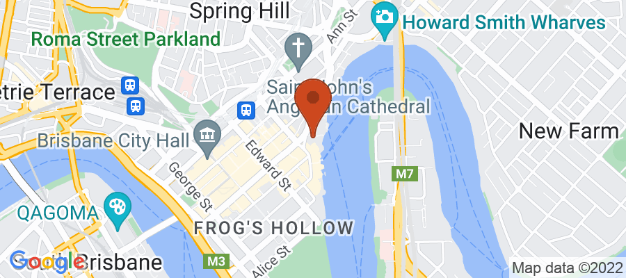 Map for 111 Eagle Street, Brisbane City QLD 4000, Australia