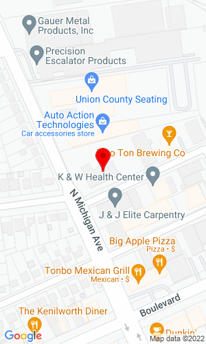 Google Map of United Crane Rental 111 N Michigan Avenue, Kenilworth, NJ, 07033