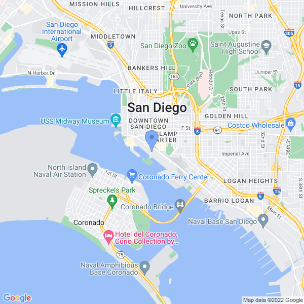 Comic Con International: San Diego Map