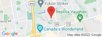 Google Map of 111+Auto+Vaughan+Drive%2CMaple%2COntario+L6A+4A1