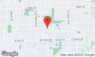 Map of 111 60th Street DOWNERS GROVE, IL 60516