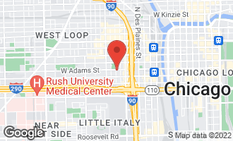 Map of 111 South Peoria Street PH02 Chicago, IL 60607