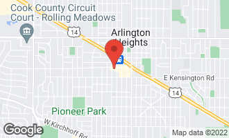 Map of 111 West Campbell Street #401 ARLINGTON HEIGHTS, IL 60005