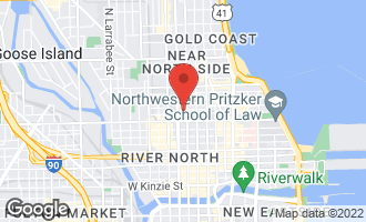 Map of 111 West Chestnut Street CHICAGO, IL 60610