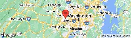 Map of 11108 DEVILLE ESTATES DRIVE OAKTON, VA 22124