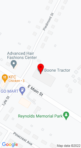Google Map of Boone Tractor 1111 E. Main Street, Bedford, VA, 24523